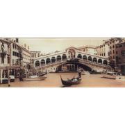 Венеція 3 скло 20х50 KONSKIE Декор