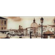 Венеція 4 скло 20х50 KONSKIE Декор