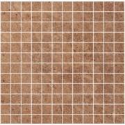 Ксенон бронз лапато рект 33х33 CERAM.GRES Мозаїка