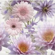 Чайніз астерс квіти 2-елем 59,4х60 OPOCZNO Декор