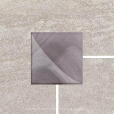 Шторм сірий лапато рект 5,8х5.8 CERAM.GRES Фриз