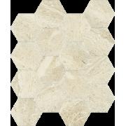Sunlight Stone Beige Mozaika Prasowana Hexagon 22 x 25.5