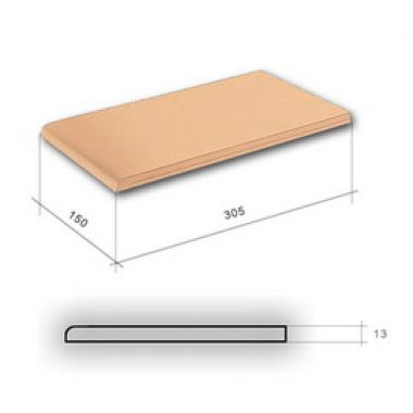 Гладка Піскова підвік. 300х148х13 CERRAD Плитка фасадна