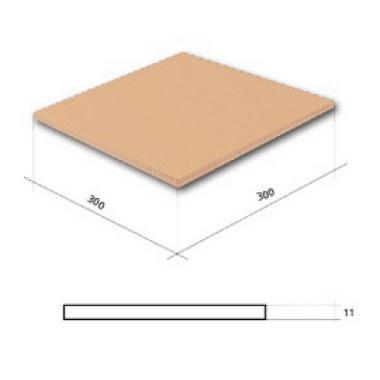 Гладка Піскова 300х300х11 CERRAD Плитка фасадна