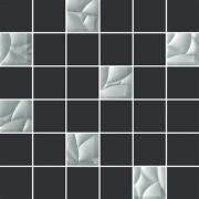 Естен сільвер/графіт (4,8х4,8) 29,8х29,8 PARADYZ Мозаїка
