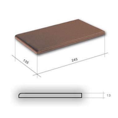 Глазур Бронзова підвік. 245х135х13 CERRAD Плитка фасадна