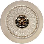 Колізеум Інсерто Іворі [Newker] 16х16 декор